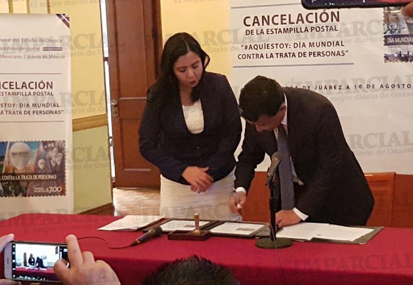 Cancelan estampilla que conmemora el Día Mundial Contra la Trata | El Imparcial de Oaxaca