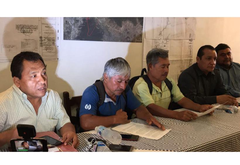 Piden comuneros de Tlalixtac  restitución de tierras en Ciudad Administrativa | El Imparcial de Oaxaca