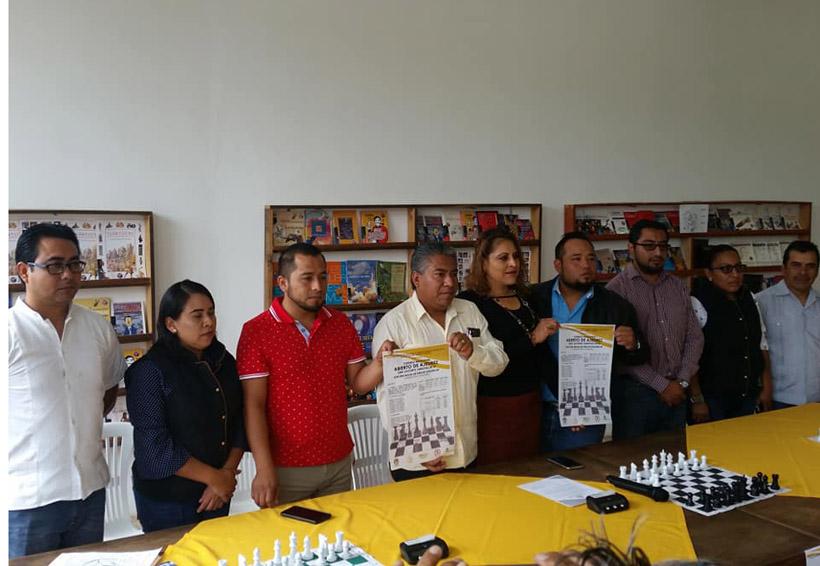 Presentan el Torneo de Ajedrez | El Imparcial de Oaxaca