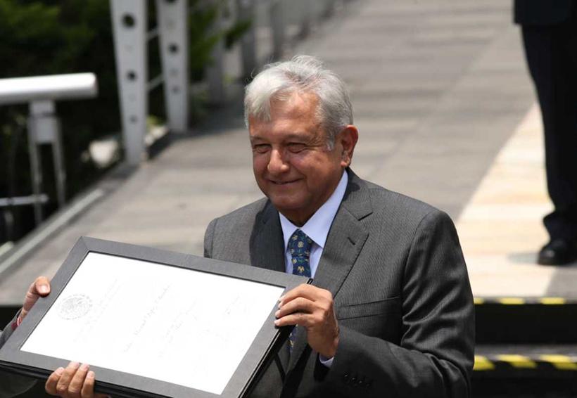 Congratula PRI entrega de constancia a AMLO | El Imparcial de Oaxaca