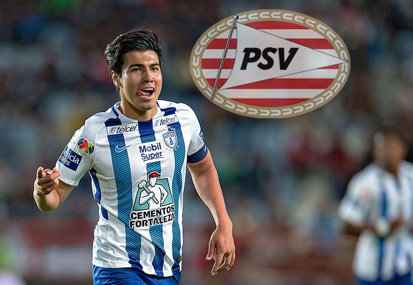 Erick Gutiérrez jugará junto a 'Chucky' Lozano en el PSV | El Imparcial de Oaxaca