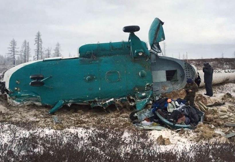 Helicóptero se estrella en Rusia; mueren los 18 ocupantes | El Imparcial de Oaxaca