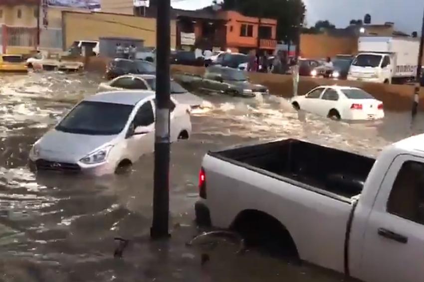 Insuficiente el drenaje pluvial del Centro de Convenciones de Oaxaca | El Imparcial de Oaxaca