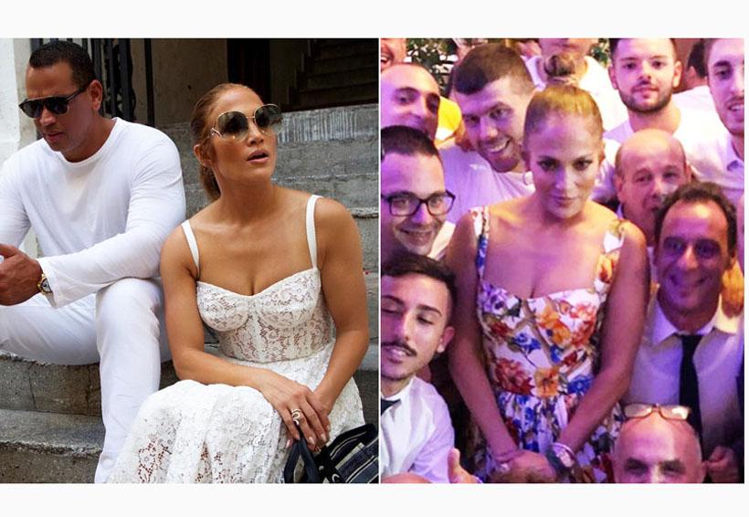 Jennifer Lopez y los 3 lujosos vestidos de Dolce & Gabbana con los que arrasó en Italia | El Imparcial de Oaxaca