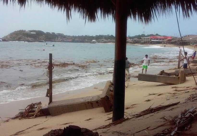 Activan alerta preventiva por mar de fondo en Oaxaca | El Imparcial de Oaxaca