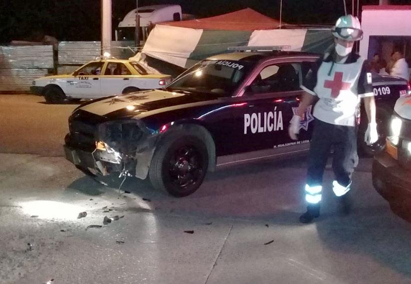 Accidente entre patrulla municipal y motociclista en Huajuapan | El Imparcial de Oaxaca