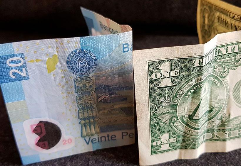 Peso se deprecia hasta las 19.15 unidades | El Imparcial de Oaxaca
