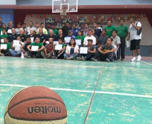 En la Mixteca, promueven actividad física a través del basquetbol