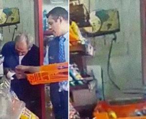 Bimbo despide a repartidor que fue captado en video robando a adulto mayor