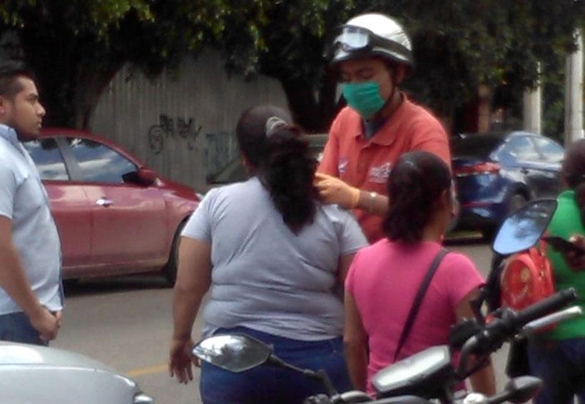 Atropelladas en la Reforma por cafre a exceso de velocidad | El Imparcial de Oaxaca