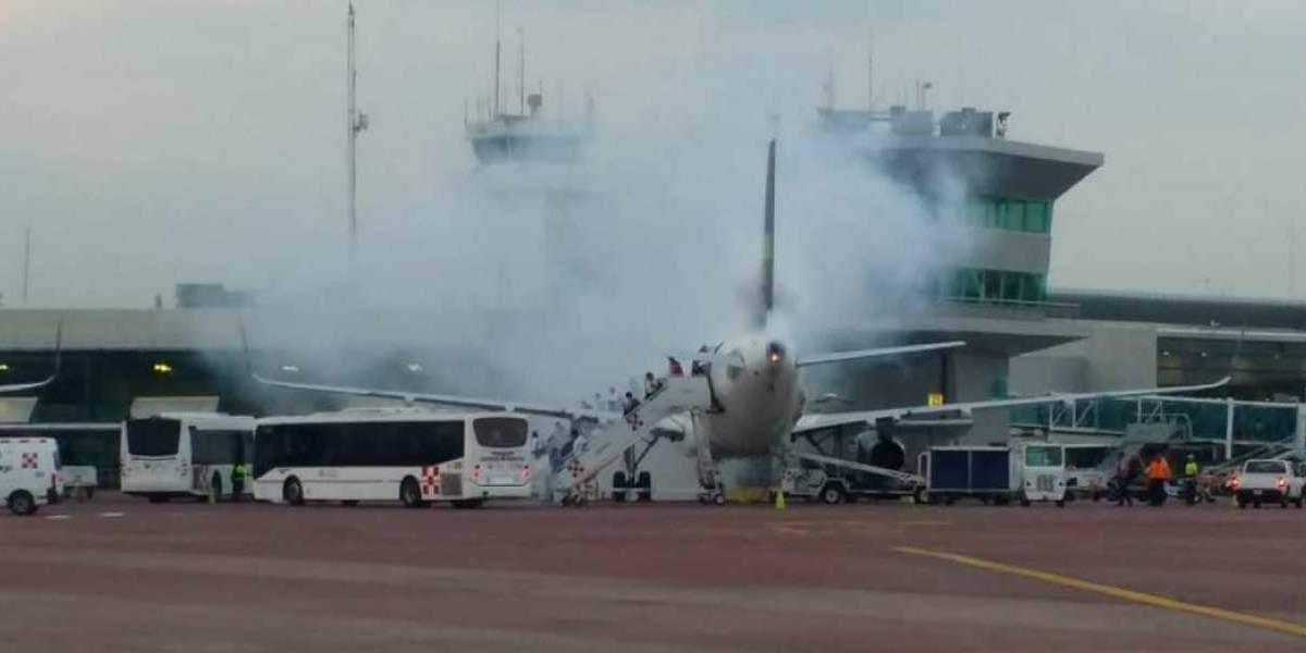 Pánico en GDL por incendio de avión de Volaris | El Imparcial de Oaxaca