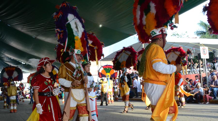 Encuentro de  Danzas de la Pluma en Zaachila
