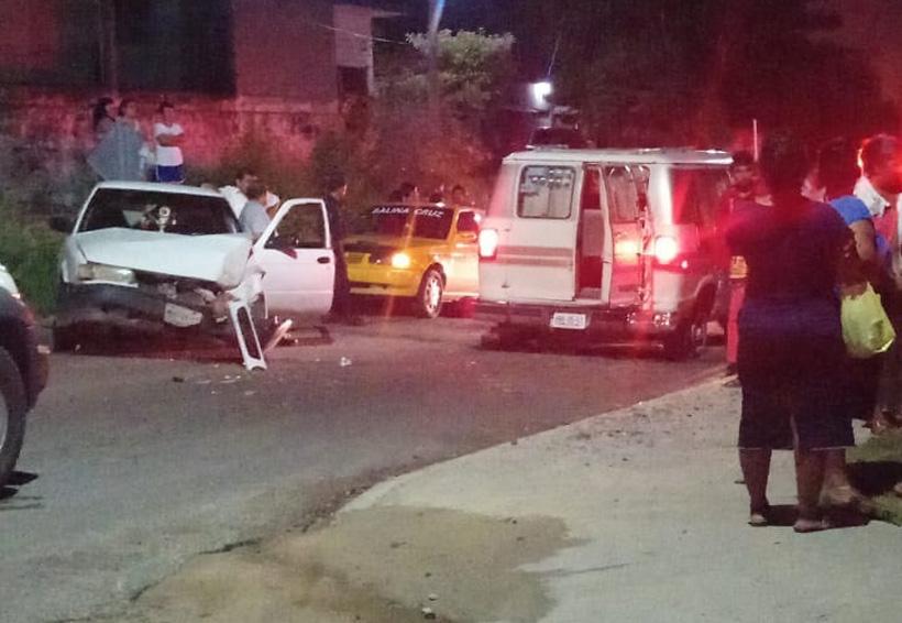 Religiosas se accidentan en Salina Cruz