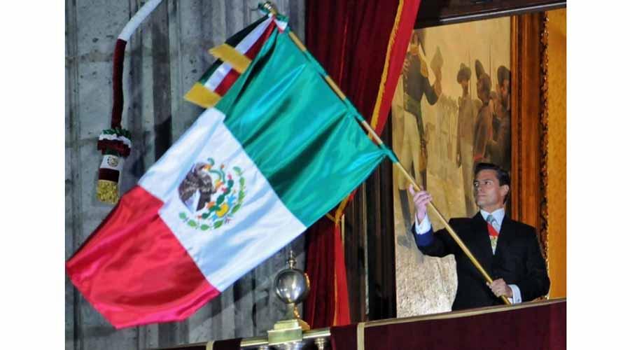 Peña Nieto dará su último Grito en Palacio Nacional | El Imparcial de Oaxaca