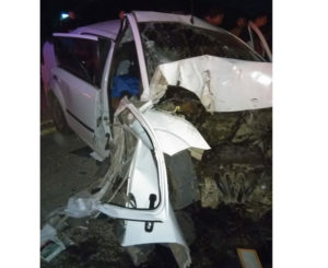 Fatal accidente en carretera a Tlacolula