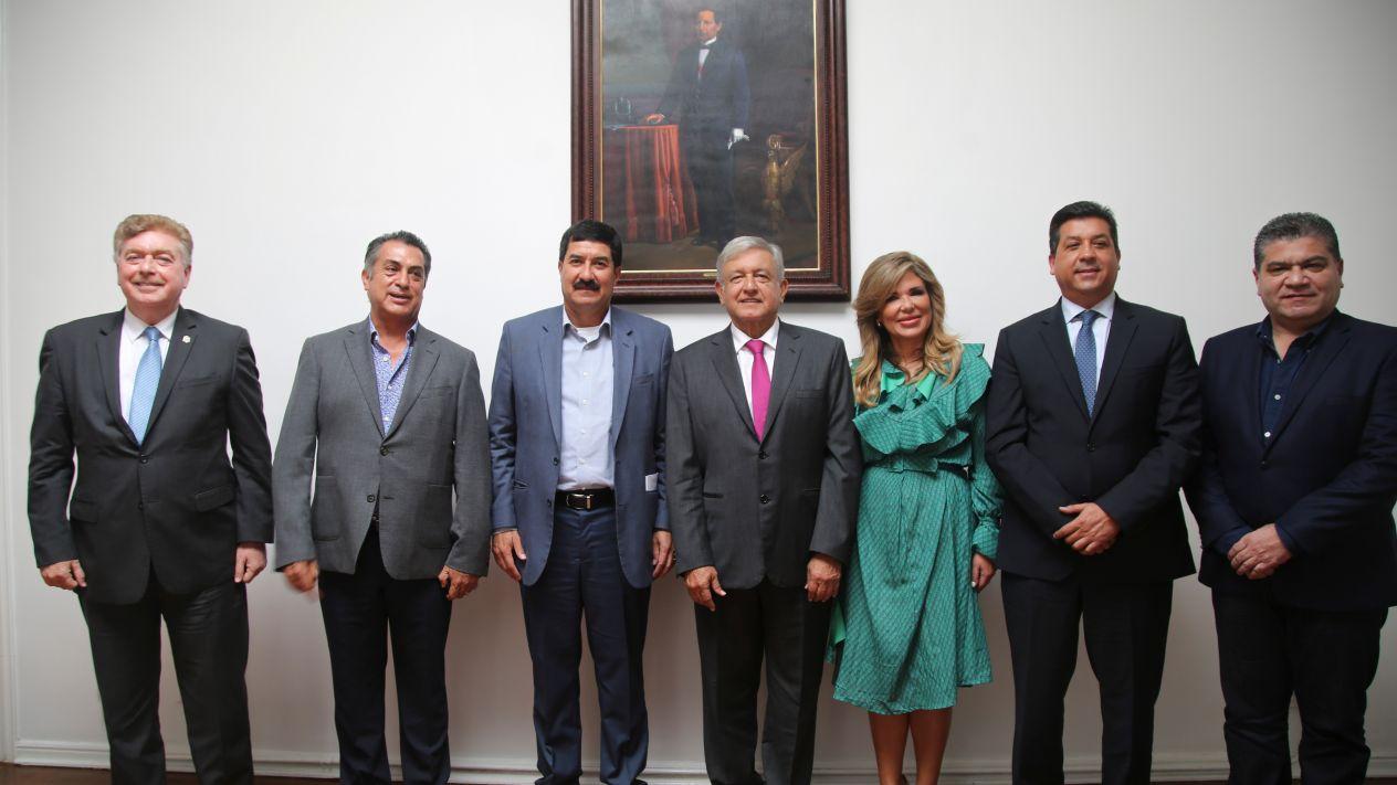 Se reúne AMLO con gobernadores de la frontera norte de México | El Imparcial de Oaxaca
