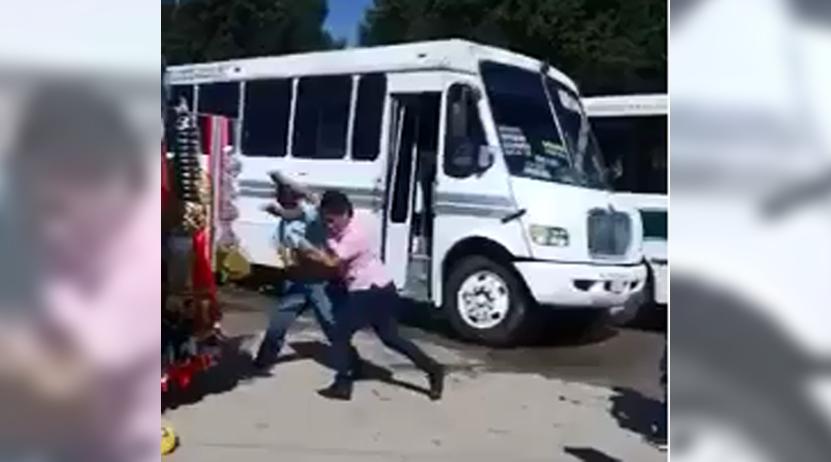 Urbaneros liman sus  asperezas con golpes   El Imparcial de Oaxaca