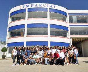 UNAM  y UPN recorren El Imparcial