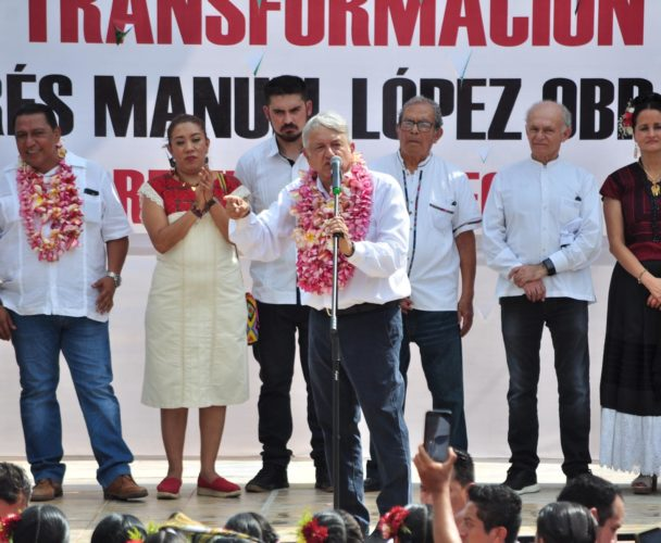 Llega la cuarta  transformación  con 34 mmdp para Oaxaca