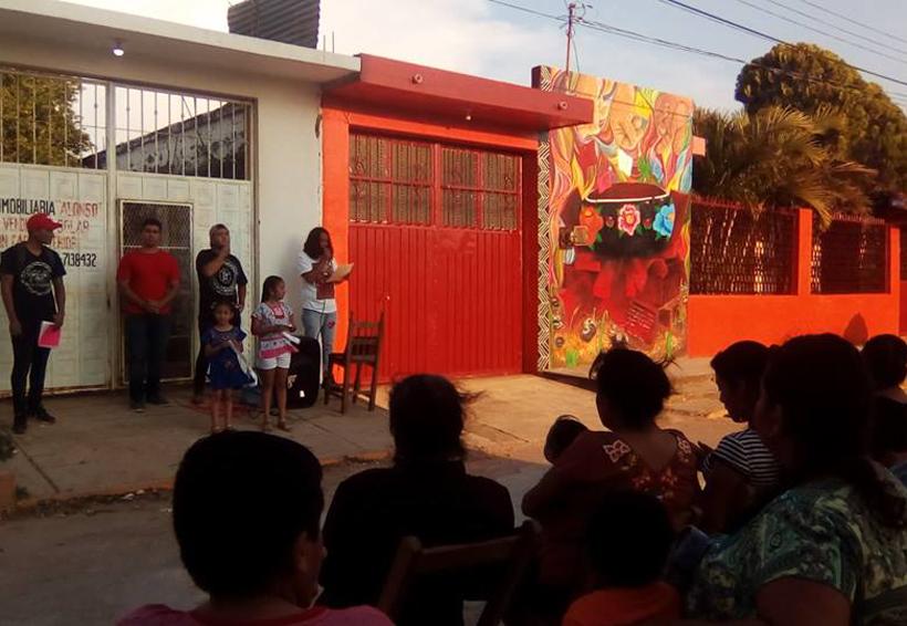 Artistas conmemoran el sismo con mural