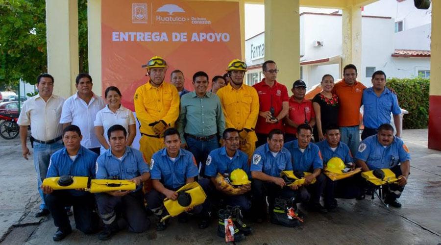 Bomberos de la Costa crean brigada contra incendios forestales