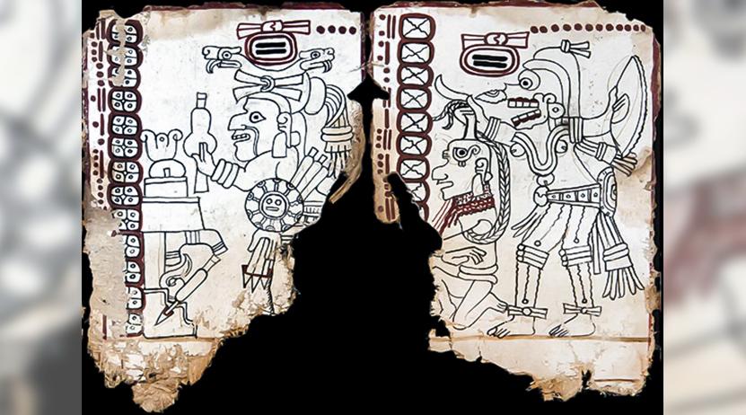 Códice Maya,  el más antiguo  de América | El Imparcial de Oaxaca