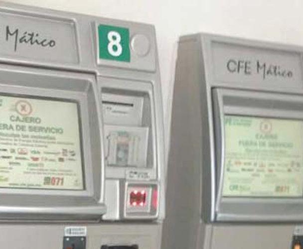 Cajeros de CFE en Tuxtepec rechazan billetes nuevos