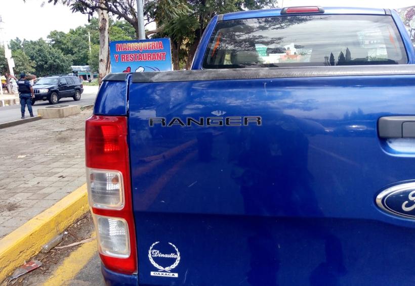 Vehículo arrolla a joven en Huayápam