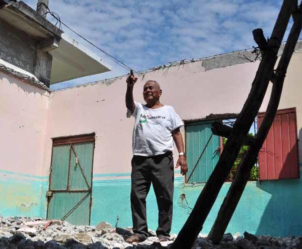 Sin reconstrucción por sismos en San Mateo del Mar