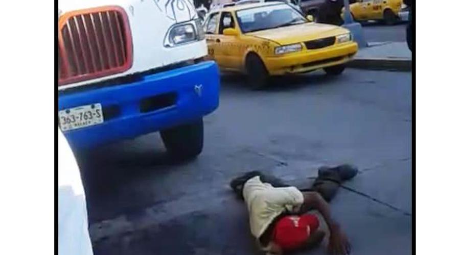 Autobús atropella  a adulto mayor en Salina Cruz
