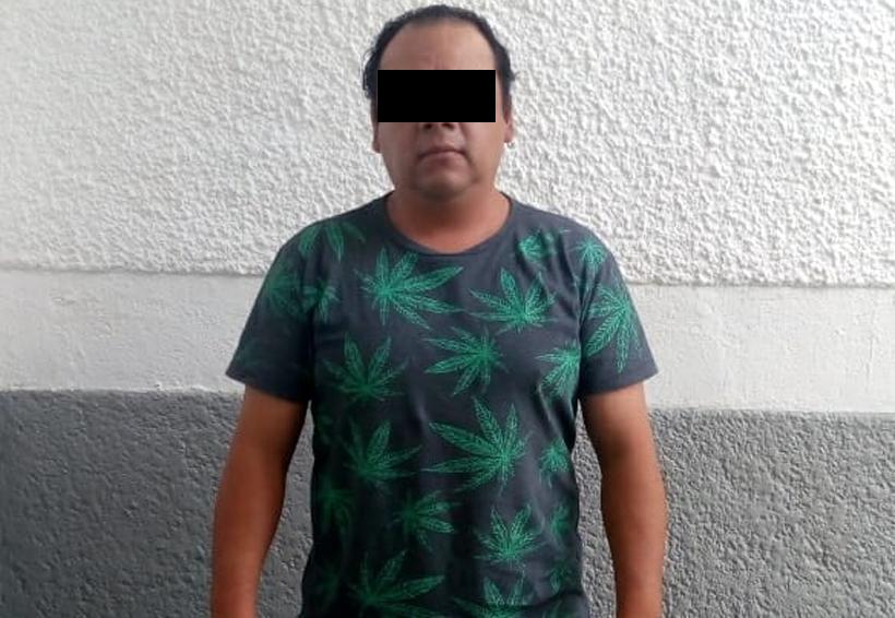 Detenien a sujeto con droga en la Central de Abasto