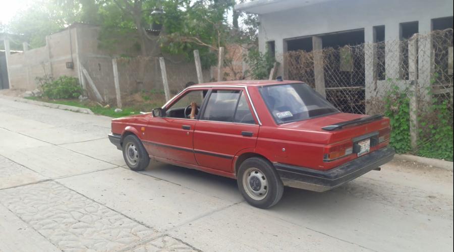 Roban auto en Miahuatlán