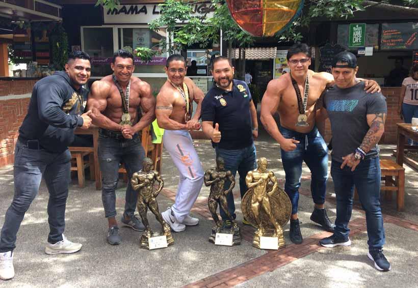 Oaxaca en el Top 5 en Físico y Fitnessmr