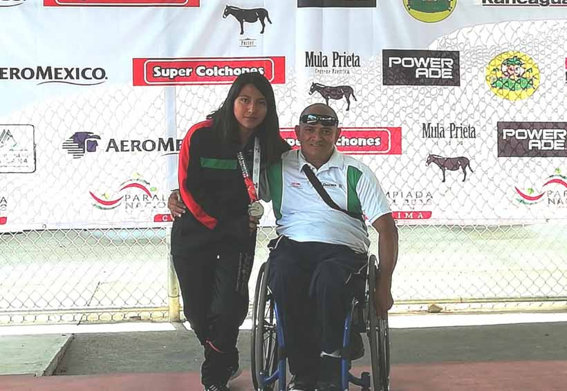 Flor Cecilia gana medalla de plata en Paralimpiada Nacional 2018