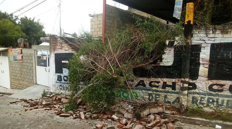 Identifican en la Mixteca zonas de riesgo  por  temporada de lluvias