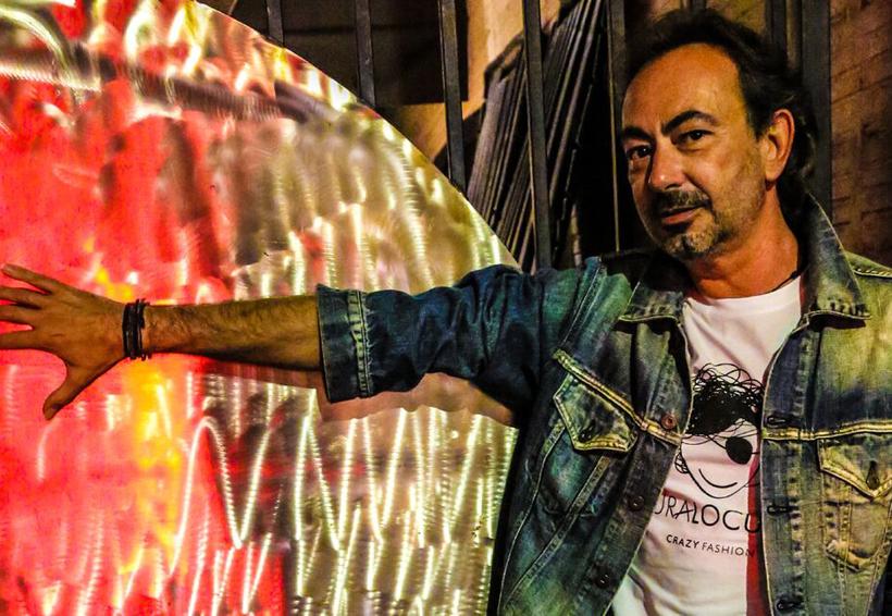 """José  Antonio Rodríguez, """"El Guitarrista Azul"""""""
