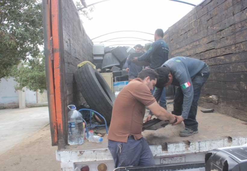 Realizan Reciclón en Tututepec