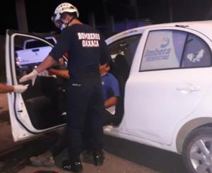 Trabajadores de empresa eólica provocan accidente en Juchitán