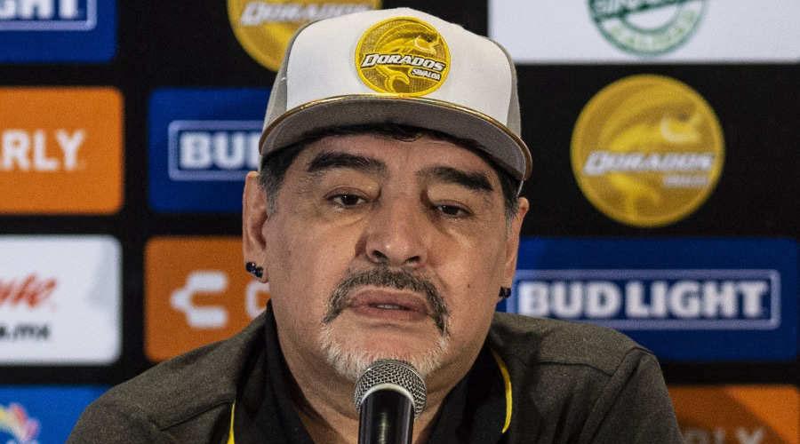 Diego Maradona llegó a Dorados porque 'no lo fue a buscar América' | El Imparcial de Oaxaca