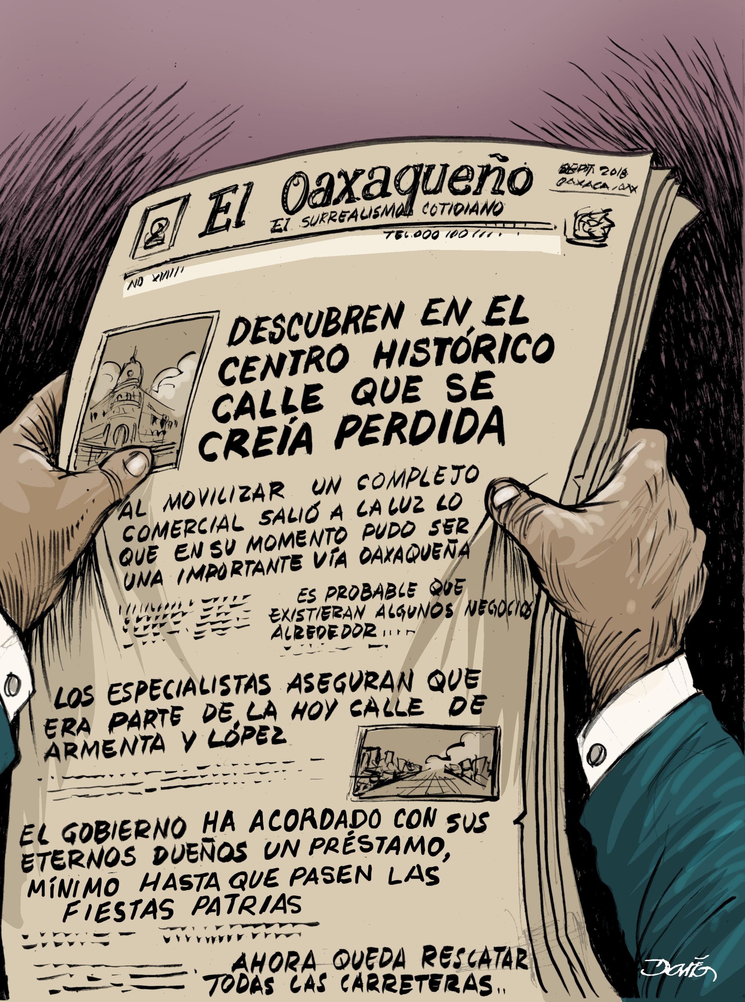 Milagro en la Antequera   El Imparcial de Oaxaca