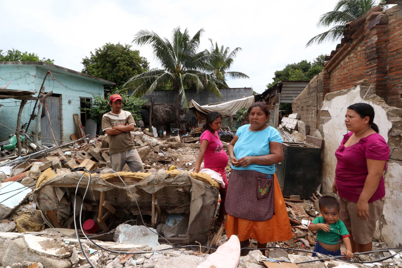 El gobierno de Oaxaca no está preparado para la reconstrucción del Istmo