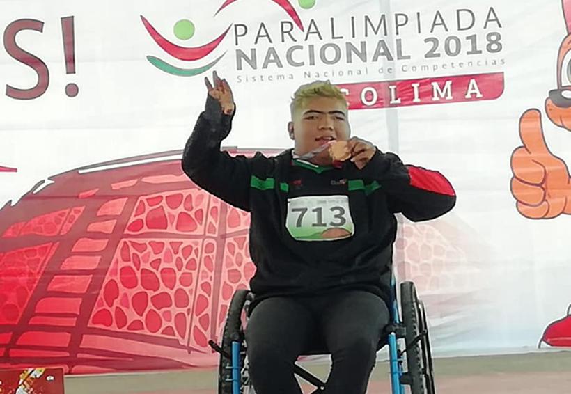 Una pobre cosecha para Oaxaca en la Paralimpiada Nacional