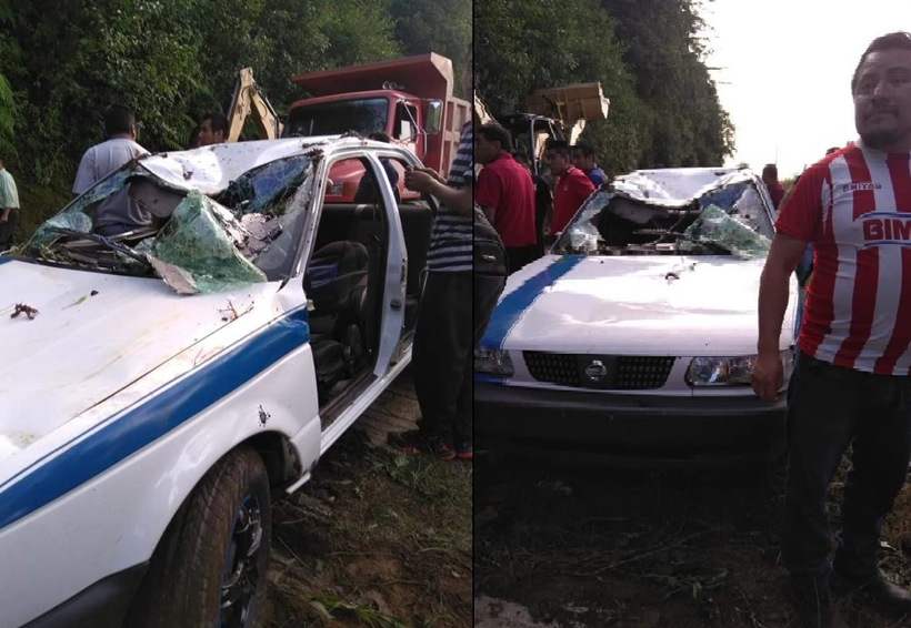 Ocho lesionados en Huautla, deja accidente de supuesto taxi pirata | El Imparcial de Oaxaca