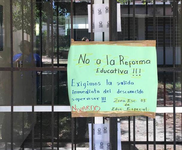 Piden la salida de supervisor escolar de educación especial