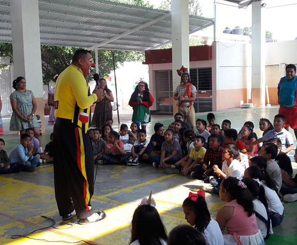 Promueven la magia de los valores en Juchitán, Oaxaca