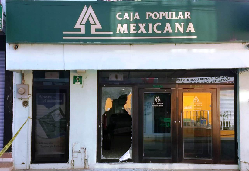 Roban moto de la Caja Popular de Juchitán | El Imparcial de Oaxaca