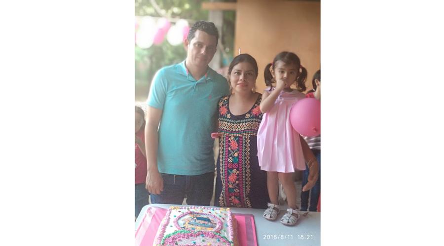 ¡Alegría en la  familia Meza Fuentes!