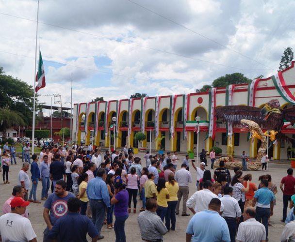 Realizan simulacro de terremoto en Tuxtepec