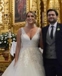 Mariano y Andrea  se unieron en sagrado matrimonio