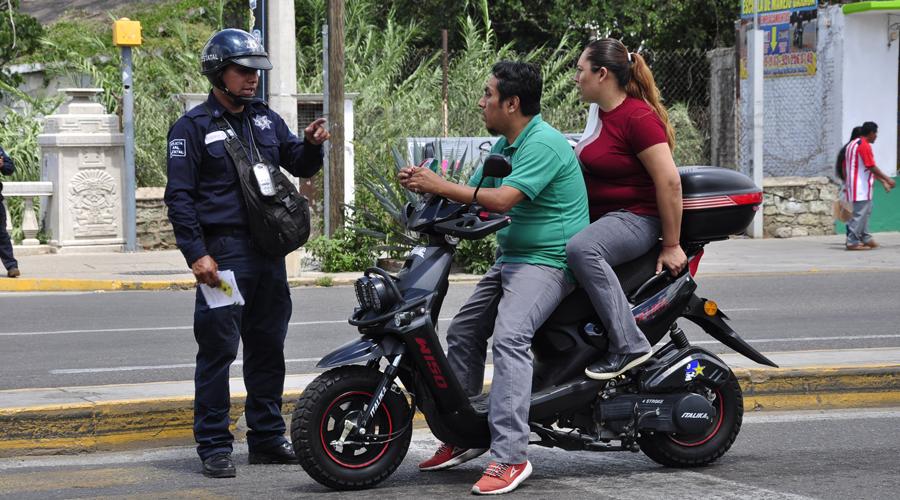 Reinician en Oaxaca, los operativos contra motociclistas | El Imparcial de Oaxaca